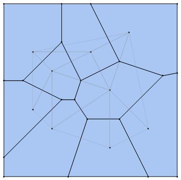 Bubble Physics Voronoi Diagrams